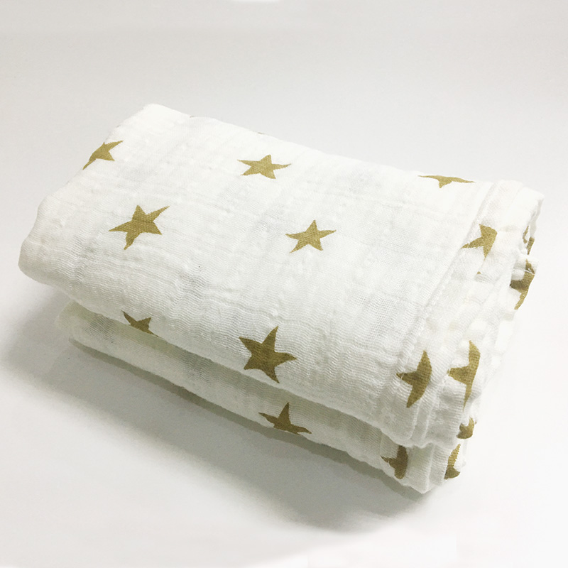 New Nursery Baby Blanket Bedding Cotton Swaddle Towel