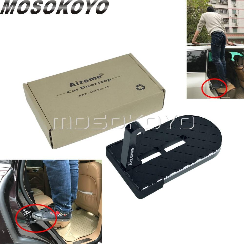 5.9 car Pedal Door Hook Support 660 lbs LCGP Universal Door Step Portable car Step
