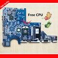Placa madre del ordenador portátil para hp/compaq cq62 g62 cq42 g42 592809-001 mainboard da0ax2mb6e1 rev: e 100% probado con el procesador