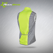 2017 ROCKBROS Reflective Cycling Vests Sleeveless Windproof Cycling Jackets MTB Road Bike Bicycle Jerseys Top Clothing Wind Coat