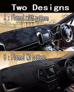 Image 4 - פלנל Dashmats לוח מחוונים מכסה דאש Pad רכב מחצלת שטיח לניסן גרנד Livina X gear Geniss 2007 2009 2012 2013 2014 2015