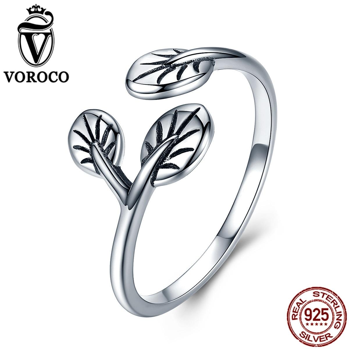 Voroco الصرفة 100٪ 925 الفضة الاسترليني - مجوهرات راقية