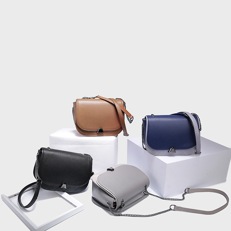 купить F-7381 Women Ladies Leather Satchel Handbag Shoulder Messenger Cross-body Bag Ladies Leather Satchel Handbag недорого