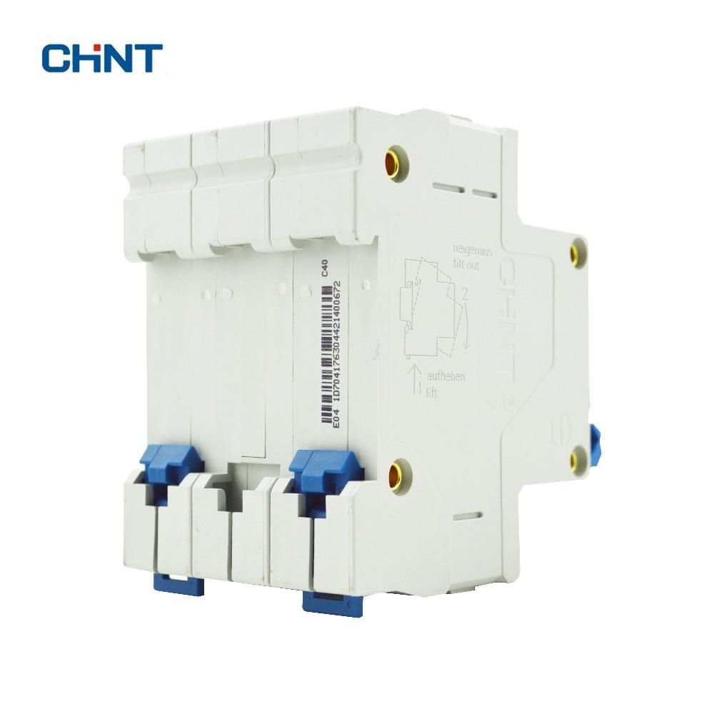 CHINT DZ47 60 3P 40A 230/440V C40 Air Switch Household Lighting ...