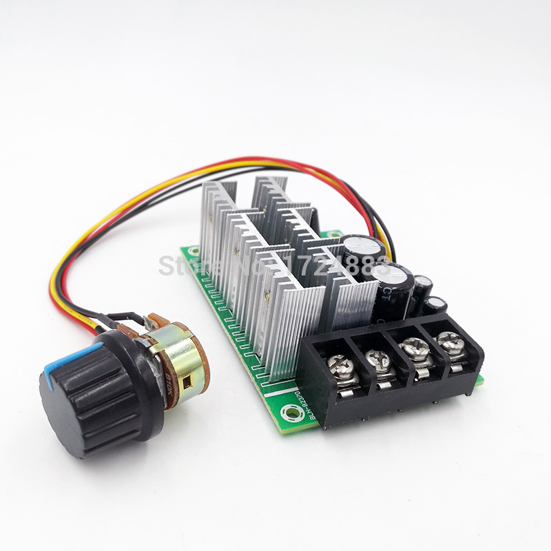 PWM 0% - 100% DC Speed Brush Motor controller motor governor drive module 10V-55V MAX40APWM 0% - 100% DC Speed Brush Motor controller motor governor drive module 10V-55V MAX40A