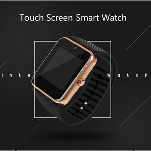 Image 3 - Bluetooth スマート時計の大画面タッチフィットネストラッカー腕時計 SIM カードコールメッセージリマインダー歩数計 Android 着用タッチ