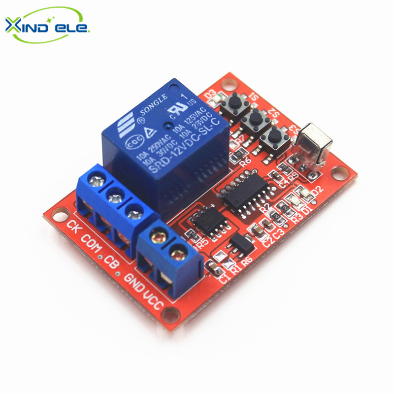XIND ELE 1 way IR 12V DC Remote Switches Learning Receiver Fs