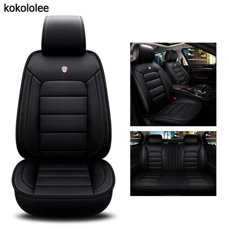 kokololee pu leather car seat cover For chevrolet sonic mercedes w204 w211 w212 skoda kodiaq bmw