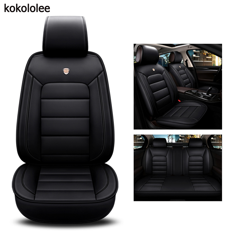 kokololee pu leather car seat cover For chevrolet sonic mercedes w204 w211 w212 skoda kodiaq bmw g30 car styling car accessories-in Automobiles Seat Covers from Automobiles & Motorcycles