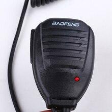 Любительское handheld ptt двухстороннее talkie walkie baofeng спикер микрофон радио для