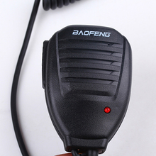 Оригинал baofeng PTT динамик микрофон радиолюбитель радио микрофон для портативный двусторонний радио рация рация UV-5R UV-5RE BF-UVB2 BF-888S GT-3