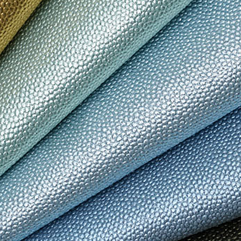 Pearl Metallic Leatherette Fabric Crafts and Bows A4 Sheets Faux Leather