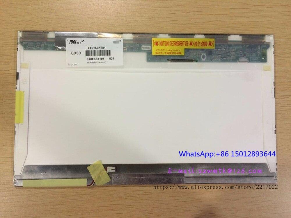 LTN160AT01 LTN160AT02 For ACER Aspire 6930G 6920 6935 6935G HP CQ60 Asus X61S Toshiba AX/53HPK Laptop LCD SCREEN Free Shipping  new 16 laptop ccfl lcd screen display matrix panel ltn160at01 ltn160at02 for acer aspire 6920 6920g 6530 6930 6930g 6935 6935g