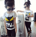 summer baby monsters t shirt girls & boys short sleeve clothes Children's character T-shirt child cothing
