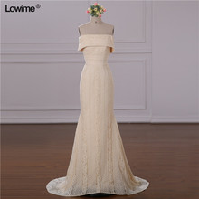 Lowime 2018 African Mermaid Evening Dresses Prom Dress