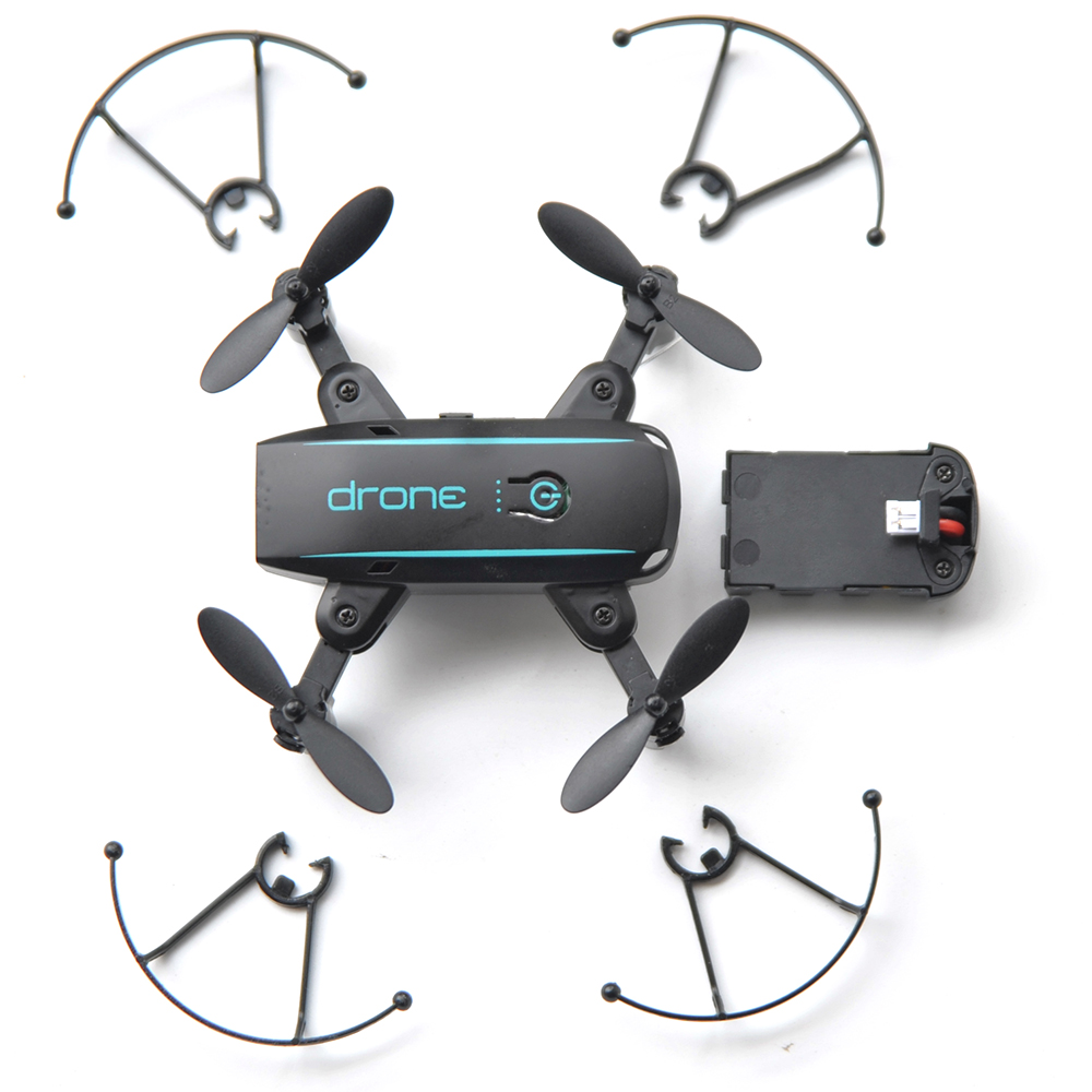 New Arrival IN1601 2.4G 720P 0.3MP Wifi FPV Foldable Mini Drone With Camera Altitude Hold RC Drone Quadcopter Selfie Drone Gifts (6)