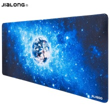 JIALONG Large Size Speed Mousepad Extender Mouse Pad Anti-slip Rubber Gaming Mouse Pad Double Weave Fabric Gaming Mouse Mat Pad