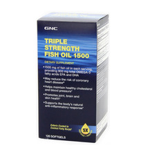 Free shipping  Health care  Triple Strength Fish Oil 1500 mg, 120 Soft Gels