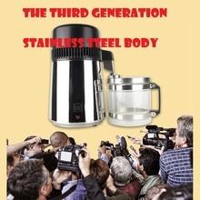 Generation 3 edelstahl Wasserdestilliergerät Maschine Wasserfilter 4L/haushalt wasser distiller