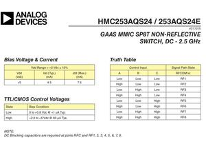 Image 4 - HMC253 DC 2.5 GHz RF יחיד מוט שמונה לזרוק מתג RF מתג אנטנה בחירת ערוץ בחירה