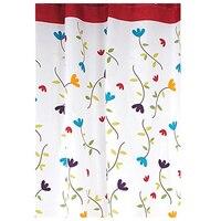 Shower Curtain Waterproof Bathroom Mold Orchid Width 220 Cm Height 180 Cm