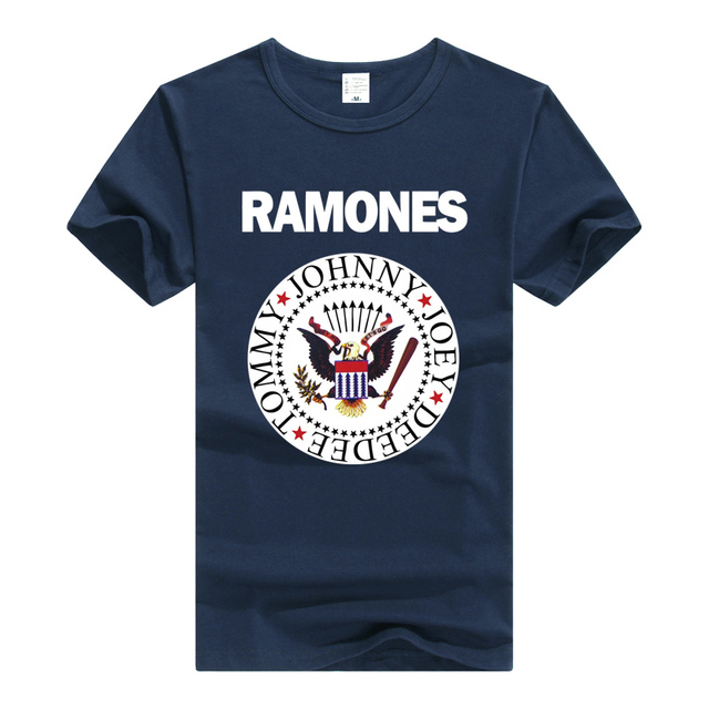 788e5ba4723404 The Ramones T Shirt Rock Band T-shirt Men Women Clothing Short Sleeve Tee  Summer Rock N Roll Punk