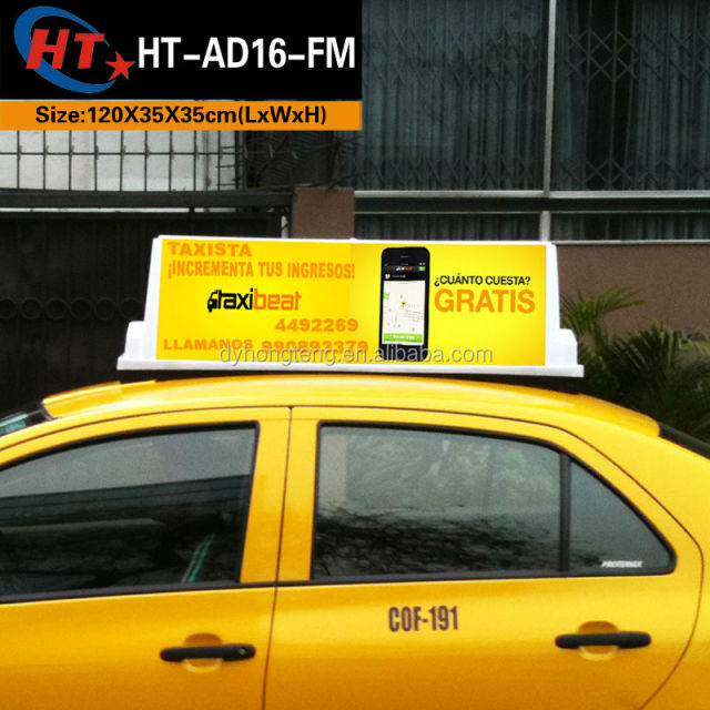 Taxi Top Light Taxi Cab Top Roof Advertising Signs Car