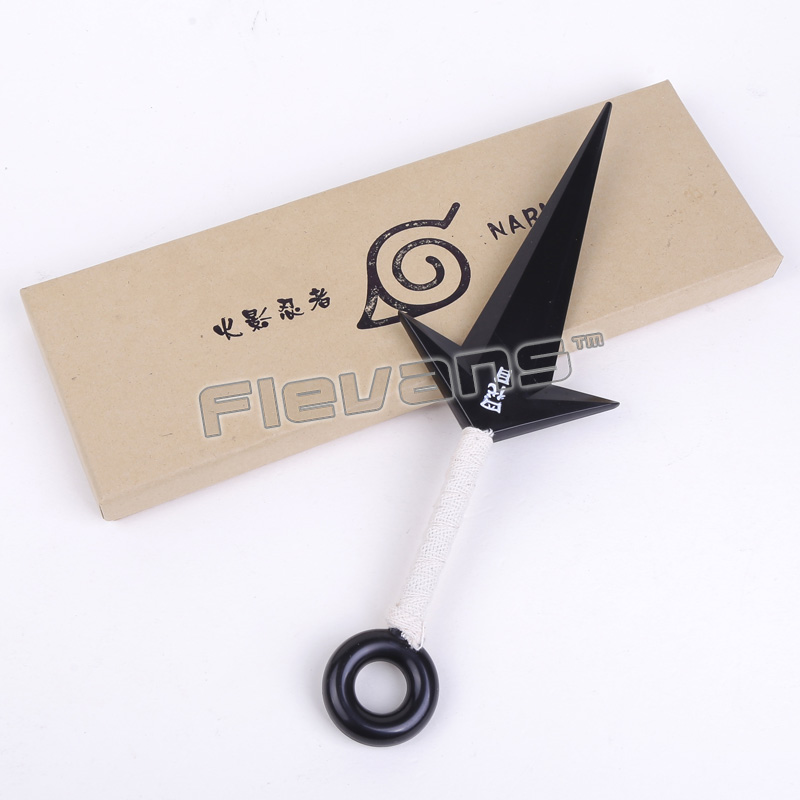 Naruto Namikaze Minato Cosplay Weapon Sword Plastic Kunai PVC Figure Collectible Toy 27.5cm 128mm diamond kitchen cabinet handles glass crystal dresser drawer pull cupboard wardrobe door handles