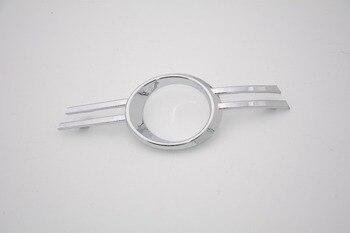 1 adet LH 2048851174 Elektrolizle Ön Sis Lambası Kapağı Krom Sol Mercedes Benz C Sınıfı W204 C200 2007 -2011