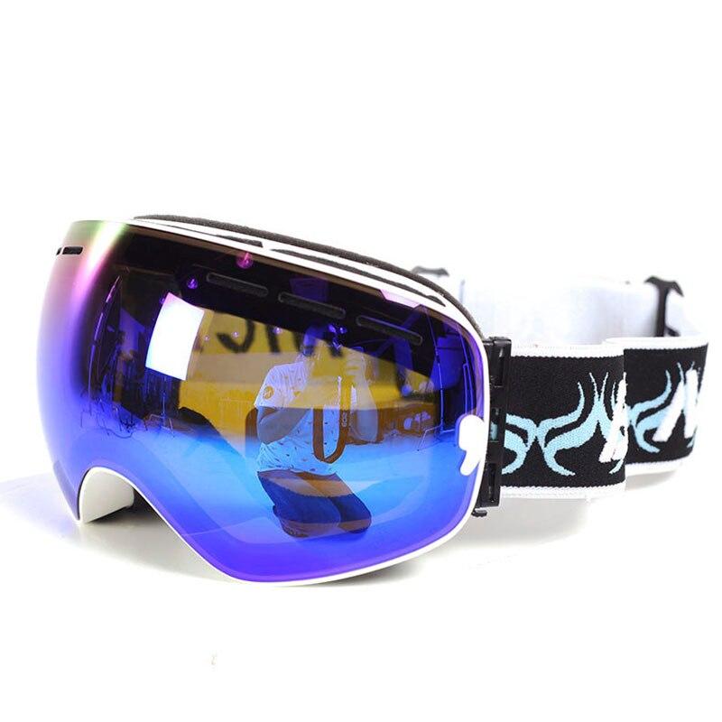 82ece1e547b8 J18 Man Woman Kids Brand Ski Goggles Snowboarding Glasses Ski Helmet Mate  Snowmobile Mask Fast Moto Bike Cycling Fishing Eyewear-in Skiing Eyewear  from ...