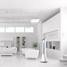 Creative Fashion Household Remote Control Bladeless Fan Low Noise Energy Saving Timing Can Shake Head Multiple Winds Tower Fan