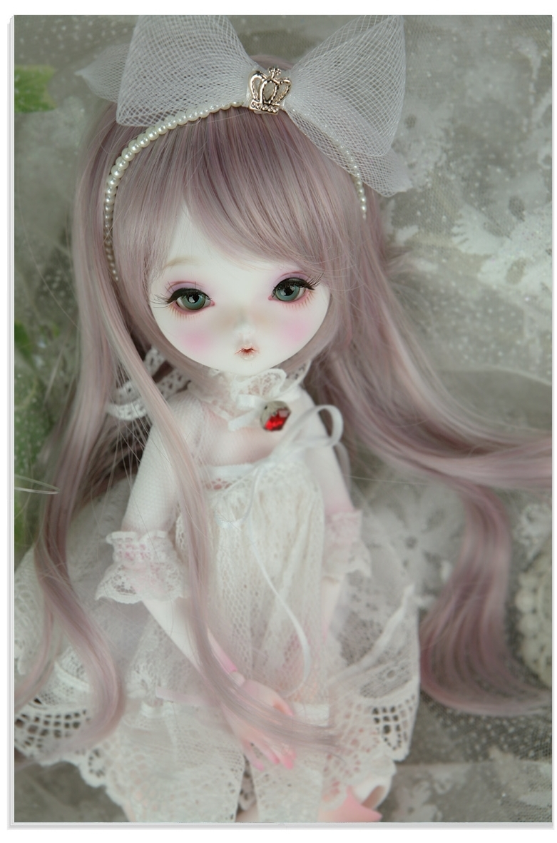 1 6 BJD doll Chloe Leeke six BJD SD Meng baby beep to send eyelashes eyelashes