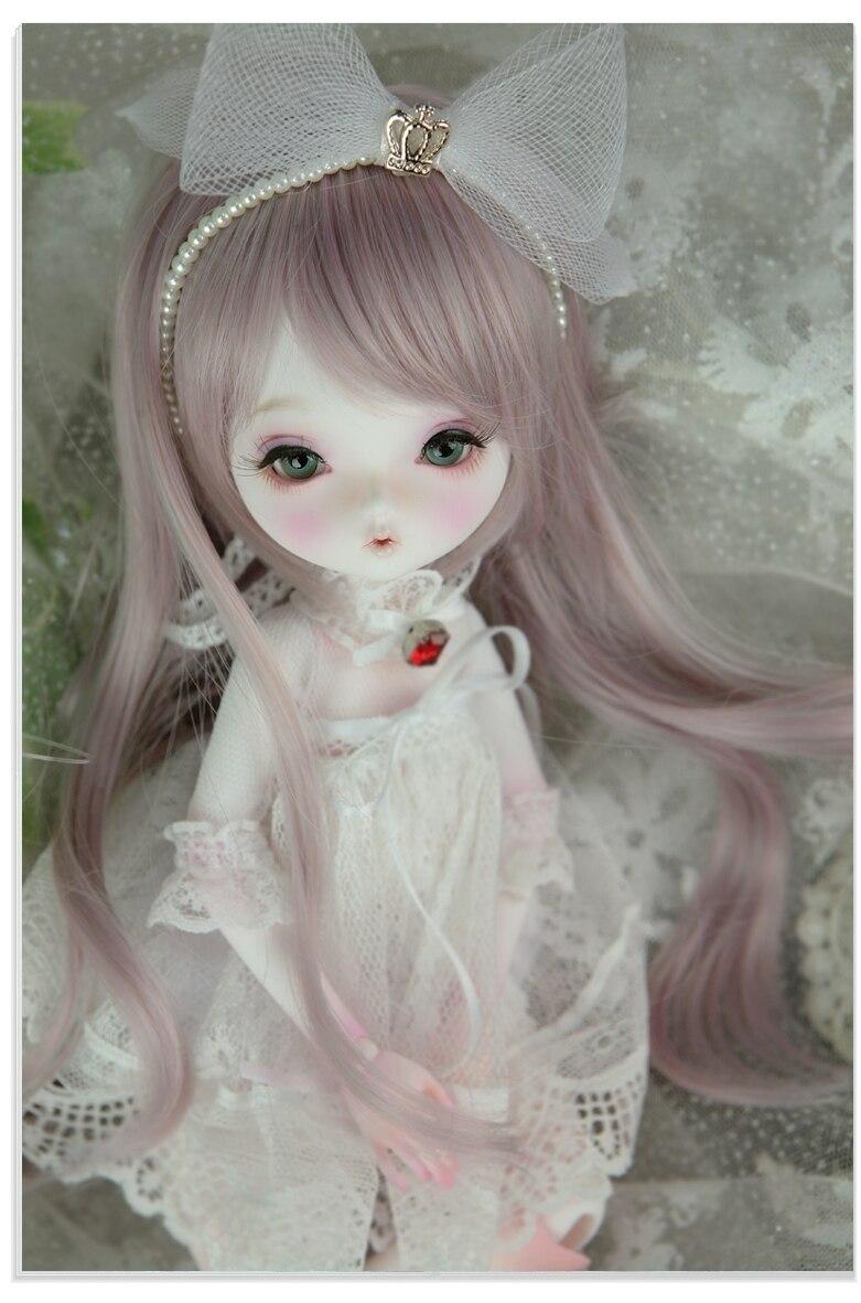 1/6 BJD/muñeca Chloe BJD/SD Meng Bebé/pitido para enviar pestañas