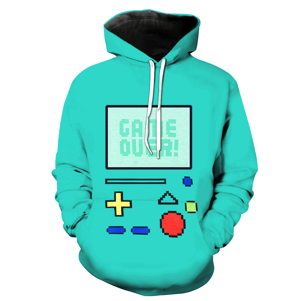 Hoodies & Sweatshirts Hearty 2018 New Navy Blue Hoodie Sweatshirt Men Women Hoodies Rubik Cube 3d Print Sweatshirts Hoodies Hoody Tracksuits Asian Size M-4xl
