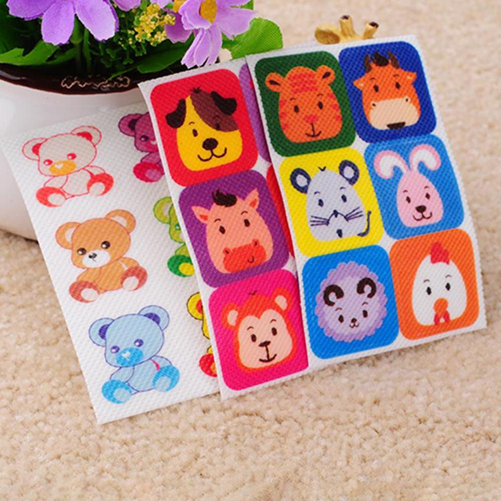 6PCS/Bag Outdoor Mosquito Repellent Stickers Patches Animal Pattern Baby Infant Anti-Mosquito Stickers Mosquitoes Killer