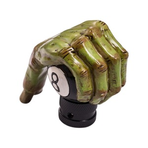 Image 5 - เกียร์รถเกียร์ SHIFT KNOB จัดแต่งทรงผม Ghost Hand Gear Stick SHIFT LEVER ลูกบิดเรซิ่นเกียร์ Shifter
