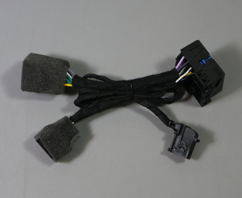 For Peugeot Citroen CD Radio Plug Adapter Harness Adapter For RD4 RD43 RD45 Socket Plug Harness Iso