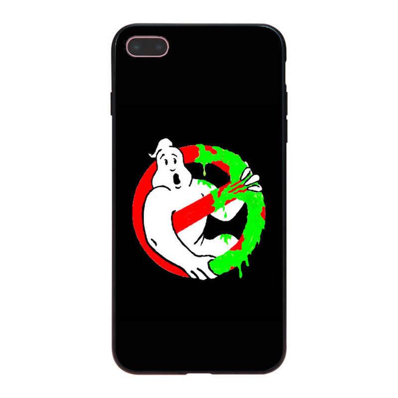 MaiYaCa ゴーストバスターズラブリーソフト電話アクセサリーケース iphone 8 7 6 6S プラス X 10 5 5S SE 5C Coque シェル