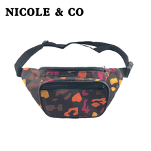 NICOLE & CO Waist Packs Fanny Pack Belt Bag Phone Pouch Bags Travel Male woman Small Fashion