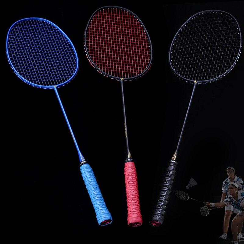 5U Graphite Single Badminton Racquet Professional Carbon Fiber Badminton Racket With Carrying Bag XR-Hot