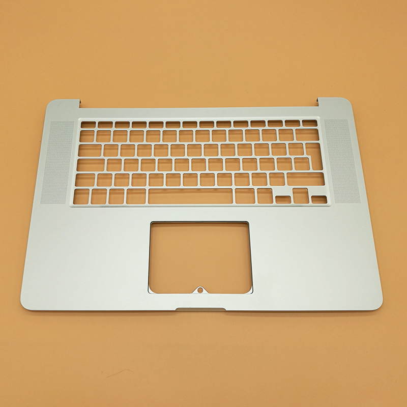 New UK Standard Laptop Keyboard Bezel Top Case Palmrest Without Keyboard For Macbook Pro 15 A1398 Retina 2012 laptop keyboard for acer silver without frame bulgaria bu v 121646ck2 bg aezqs100110