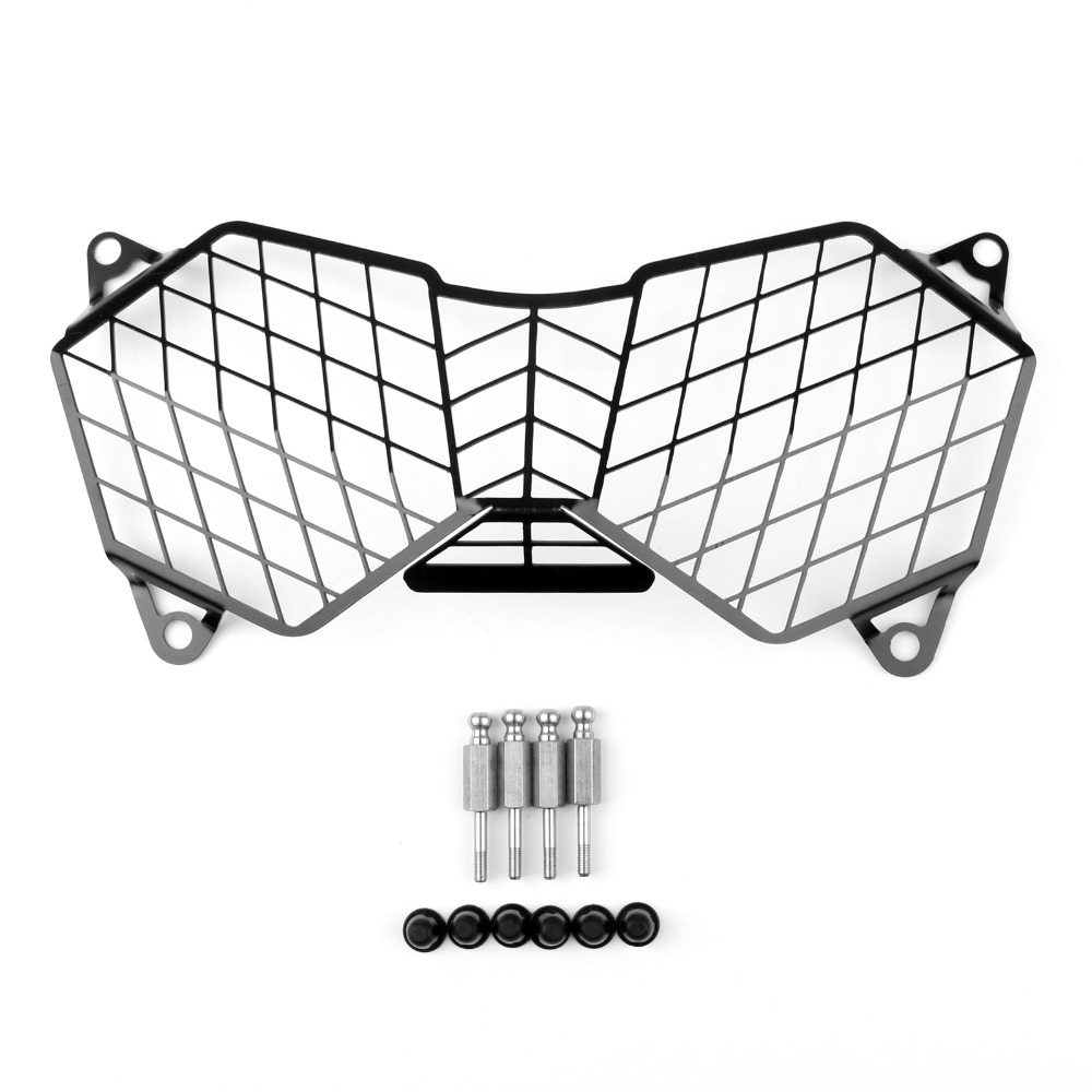 Areyourshop Motorcycle Front Headlight Guard Protector