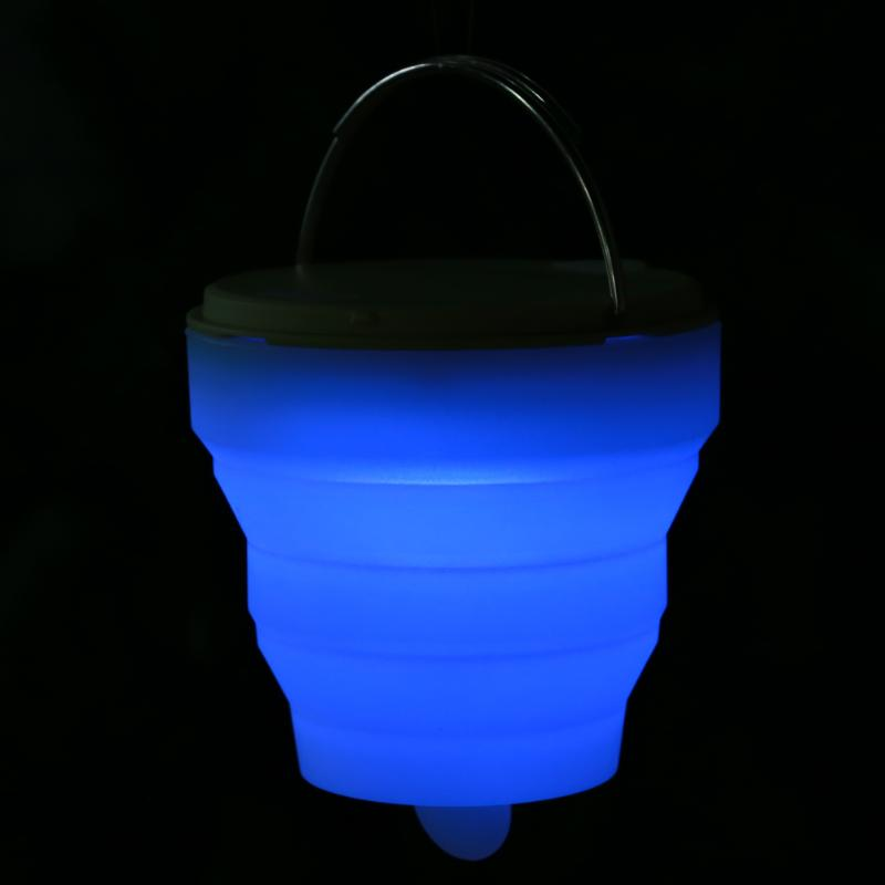 Led Silicone Camping Lamp Tent Light Colorful Atmosphere Night Outdoor Hanging Adventure Lanters In Tools From Sports