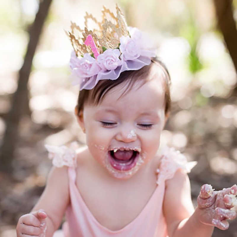 Baby Cute Girls Crown Design Headband Headwear Apparel Photography Prop Party Gift