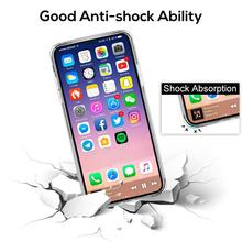 For iPhone X Case, TOPK Ultra Slim Transparent Soft TPU Silicone Shock Absorbing Scratch Resistant Phone Cover Case for iPhone X