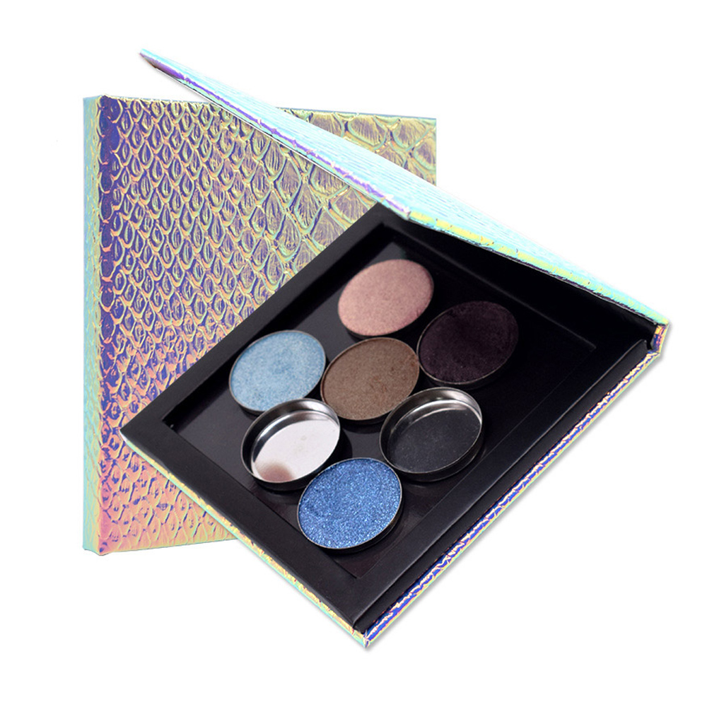 1pc 3 9in 3 9in 0 43in Empty Magnetic Palette Refill Eyeshadow Blush DIY Easy Carry Beauty Pigment Makeup Cosmetic Storage Tools in Eye Shadow from Beauty Health