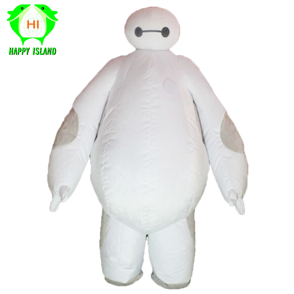 Big Baymax Inflatable Mascot Costume Halloween Party Costume Advertising 1.85M Tall Customized Cosplay Costumes for Adult