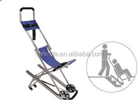 first aid kits medical folding stairway CHAIR stretcher for hospital