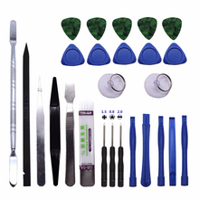 26 in1 Mobile Phone Repair Tools Kit Spudger Screwdriver Hand Set For iPhone iPad Samsung Cell