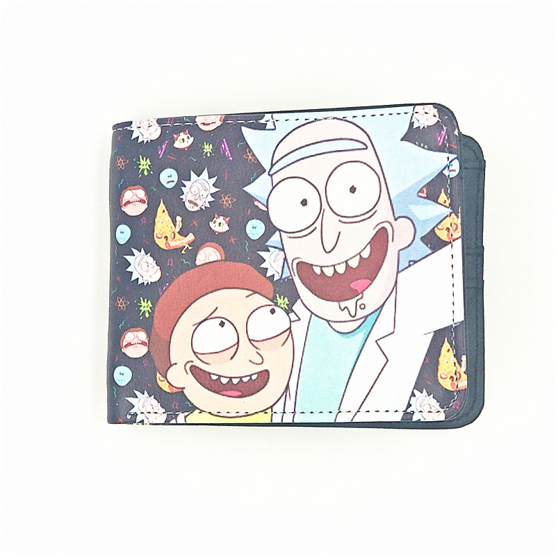 wallets for movie funs Rick and Morty kid cute purse call of duty female purse the BLEACH wallets Christmas gift wallet